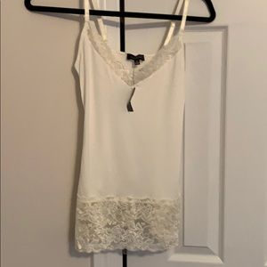 The Limited cream lacey tank - new!